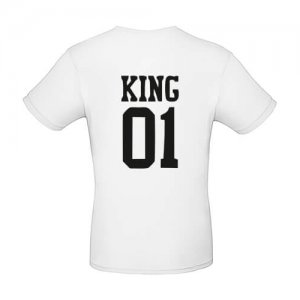 6382f48a6676 King 01 and Queen 01 - T-shirt Freaks