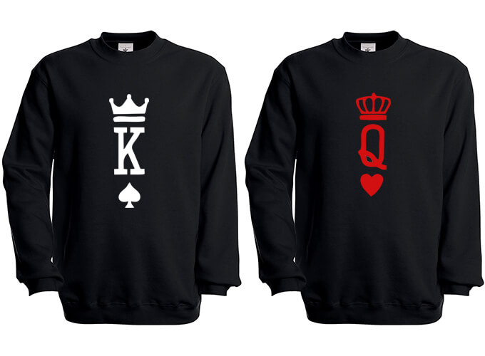 abd706cb9c3c King   Queen Sweatshirt - T-shirt Freaks